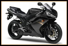 Full Fairings For Yamaha 2007 - 2008 YZF1000 R1 Injection Matte Black