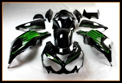 Injection Fairings For Kawasaki ZZR1400 ZX14R 2012 - 2016 Black Green