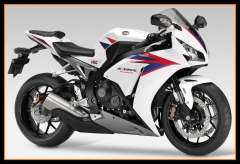 Injection Fairings Kit For Honda 2012 - 2016 CBR1000RR White