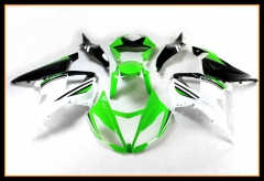 ABS Plastic Fairings For Kawasaki 2013 - 2017 ZX6R White Black Green