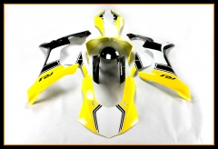 New Cowlings For Yamaha 2015 - 2016 YZF1000 R1 Injection Yellow Black