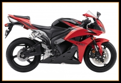 Full Fairings Kit For Honda 2009 - 2012 CBR600 RR F5 Red Black