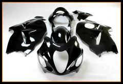 Complete Injection ABS Fairing Kit For Suzuki Hayabusa/ GSX1300R 1997 - 2007 Bodywork Cowlings Gloss Pure Black Body Kits