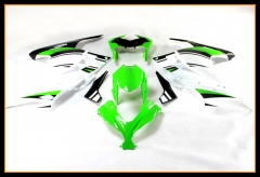 Injection Fairings For Kawasaki Ninja300 2013 2014 2015 Green White Black