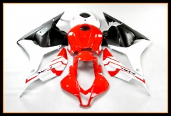 Injection Fairings Kit For Honda 2009 - 2012 CBR600 RR F5 Red White