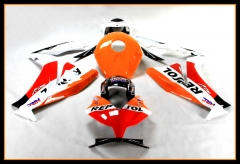 Complete Fairings Kit For Honda 2012 - 2016 CBR1000RR Orange Red