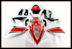 Full Fairings For Yamaha 2012 - 2014 YZF1000 R1 Injection Red White