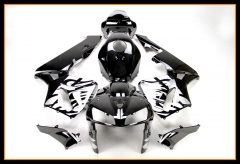Full Fairings For Honda 2005 2006 CBR600 RR F5 Silver Black