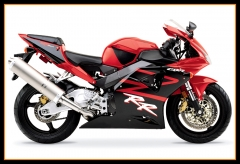 Injection Fairings Kit For Honda 2002 2003 CBR954RR Red Black