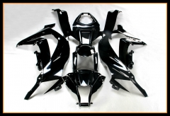 ABS Plastic Body Kits For Kawasaki ZX10R 2011 - 2015 Gloss Black