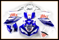 Complete Cowlings For Yamaha 2007 - 2008 YZF1000 R1 Injection Blue White Red Stickers