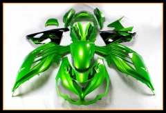 Injection Body Kit For Kawasaki ZZR1400 ZX14R 2012 - 2016 Pearl Green