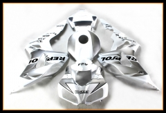 Full Injection Fairings Kit For Honda 2006 2007 CBR1000RR Silver White
