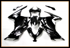 Complete ABS Fairings For Kawasaki Ninja300 2013 2014 2015 Glossy Black