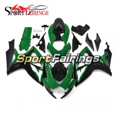 Fairing Kit Fit For Suzuki GSXR600 750 2006 - 2007 - Green Black