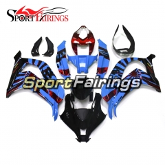 Fairing Kit Fit For Kawasaki ZX10R 2016 2017 - Blue Black