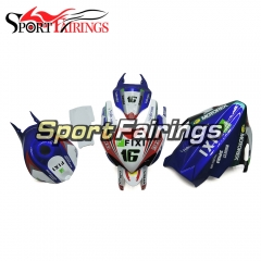 Fiberglass Fairing Kit Fit For Suzuki GSXR1000 K7 2007 - 2008 - White Blue