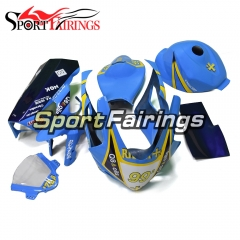 Fierglass Racing Fairing Kit Fit For Suzuki GSXR1000 K5 2005 - 2006 - Blue