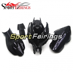 Fiberglass Racing Fairing Kit Fit For Suzuki GSXR600 750 2006 - 2007 - Black