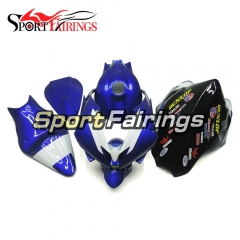 Fiberglass Racing Fairing Kit Fit For Yamaha YZF R6 2006 2007 - Blue Black White