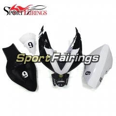 Fiberglass Racing Fairing Kit Fit For Yamaha YZF R1 2004 - 2006 - White Black