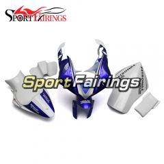 Fiberglass Racing Fairing Kit Fit For Yamaha YZF R1 2009 - 2011 - Blue White