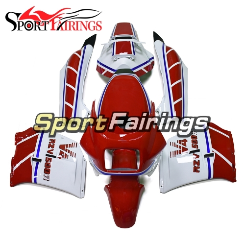 Fairing Kit Fit For Yamaha RZV500 1985 - White Red