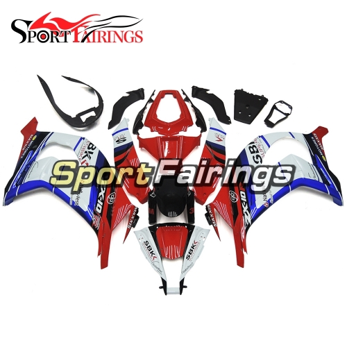 Fairing Kit Fit For Kawasaki ZX10R 2011 - 2015 - White Red Blue