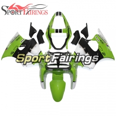 Fairing Kit Fit For Kawasaki ZX6R 2000-2002- Green White Black SBK