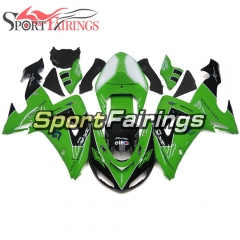 Fairing Kit Fit For Kawasaki ZX10R 2006 - 2007 -Black Green