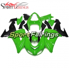 Fairing Kit Fit For Kawasaki ZX10R 2006 - 2007 -Green Black Matte