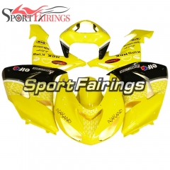 Fairing Kit Fit For Kawasaki ZX10R 2006 - 2007 -Yellow Raindrops