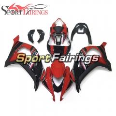 Fairing Kit Fit For Kawasaki ZX10R 2016 2017 - Red Black