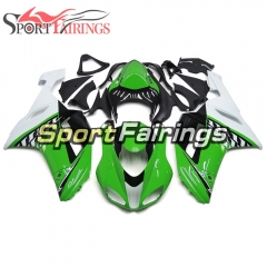 Fairing Kit Fit For Kawasaki ZX6R 2007 - 2008 -Green White