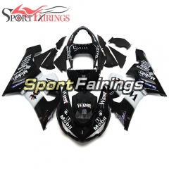 Fairing Kit Fit For Kawasaki ZX6R 2005 - 2006 - West Black