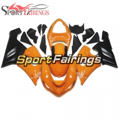 Fairing Kit Fit For Kawasaki ZX6R 2005 - 2006 - Orange Black