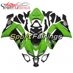 Fairing Kit Fit For Kawasaki ZX6R 2007 - 2008 -Green Black