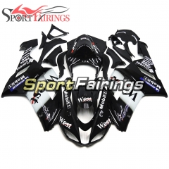 Fairing Kit Fit For Kawasaki ZX6R 2007 - 2008 - West Black