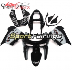 Fairing Kit Fit For Kawasaki ZX9R 1998 - 1999 - West White Black