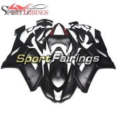 Fairing Kit Fit For Kawasaki ZX6R 2007 - 2008 - Matte Black Red