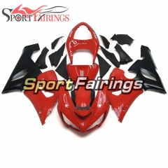 Fairing Kit Fit For Kawasaki ZX6R 2005 - 2006 - Pearl Red Black