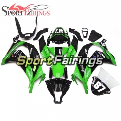 Fairing Kit Fit For Kawasaki ZX10R 2011 - 2015 -Team Green 87