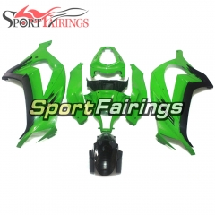 Fairing Kit Fit For Kawasaki ZX10R 2011 - 2015 -Black Green