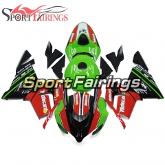 Fairing Kit Fit For Kawasaki ZX10R 2004 - 2005 -SBK Motorcard 21 Red Black Green