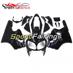 Fairing Kit Fit For Kawasaki ZX12R 2000 2001 -Gloss Black Matte