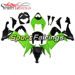 Fairing Kit Fit For Kawasaki ZX10R 2008 - 2010 -Green Black