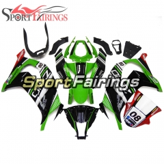 Fairing Kit Fit For Kawasaki ZX10R 2011 - 2015 -Elf 08 Green Black