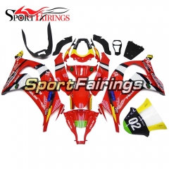 Fairing Kit Fit For Kawasaki ZX10R 2011 - 2015 -Red Trick Star 21