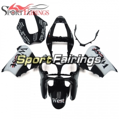 Fairing Kit Fit For Kawasaki ZX9R 2002 - 2003 -West Black White