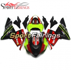 Fairing Kit Fit For Kawasaki ZX10R 2004 - 2005 -Elf Red Black
